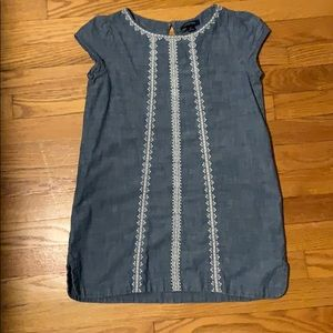 Lands End chambray tunic top dress